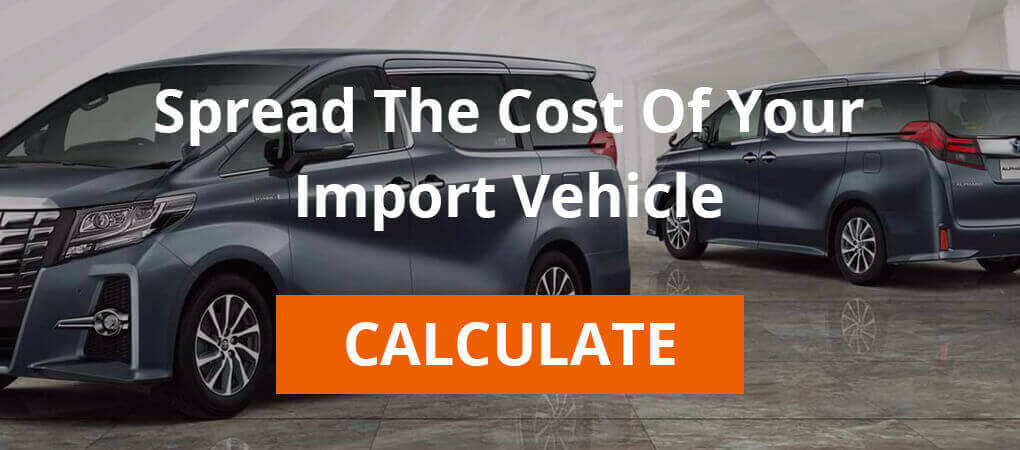 Import vehicle finance